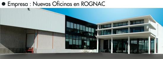 Emprasa : nuevos oficinas en ROGNAC